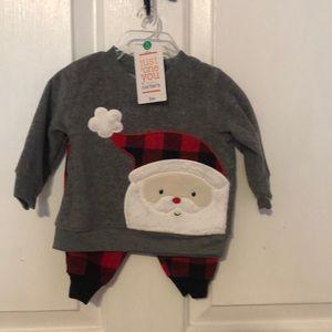 Santa 2 price flannel set